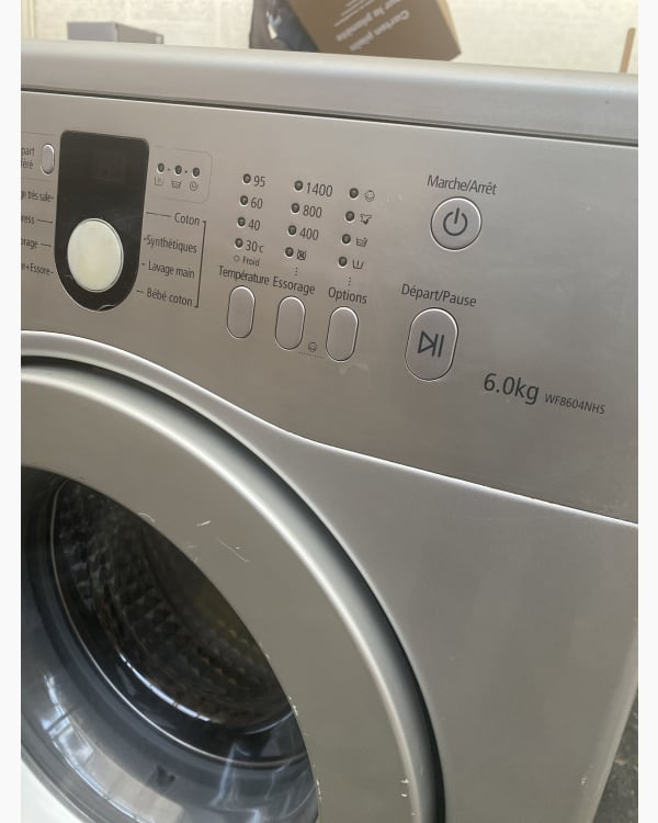Lave-linge Ouverture frontale Samsung WF8604NHS/XEF 4