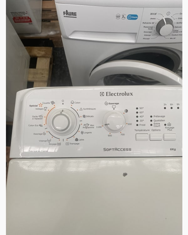 Lave-linge Ouverture par le haut Electrolux EWT 116212 2
