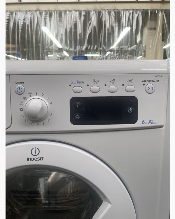 Lave-linge Ouverture frontale Indesit IWE61481 3