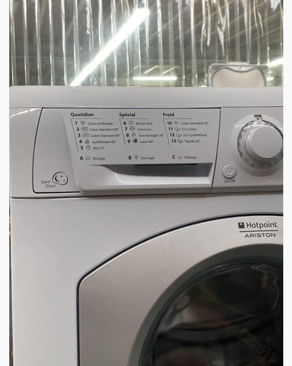 Lave-linge Ouverture frontale Hotpoint Ariston HAF921 2