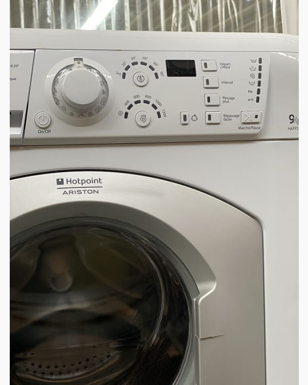 Lave-linge Ouverture frontale Hotpoint Ariston HAF921 3