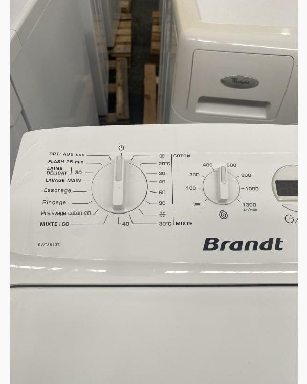 Lave-linge Ouverture par le haut Brandt Bwt3613t-f 2