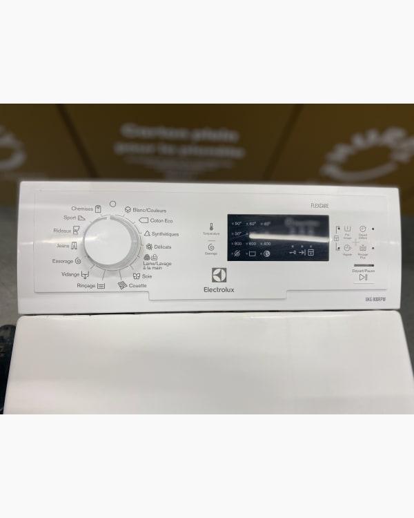 Lave-linge Ouverture par le haut Electrolux Ewt0860td1 2