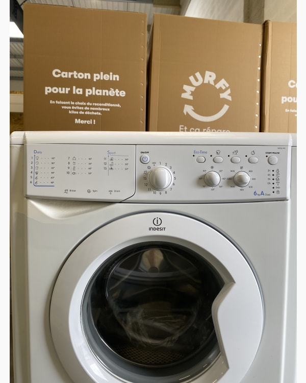 Lave-linge Ouverture frontale Indesit Iwc6143 2