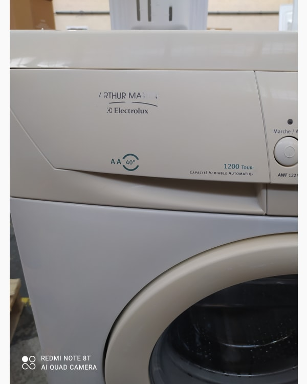 Lave-linge Ouverture frontale Electrolux AWF 1225 2