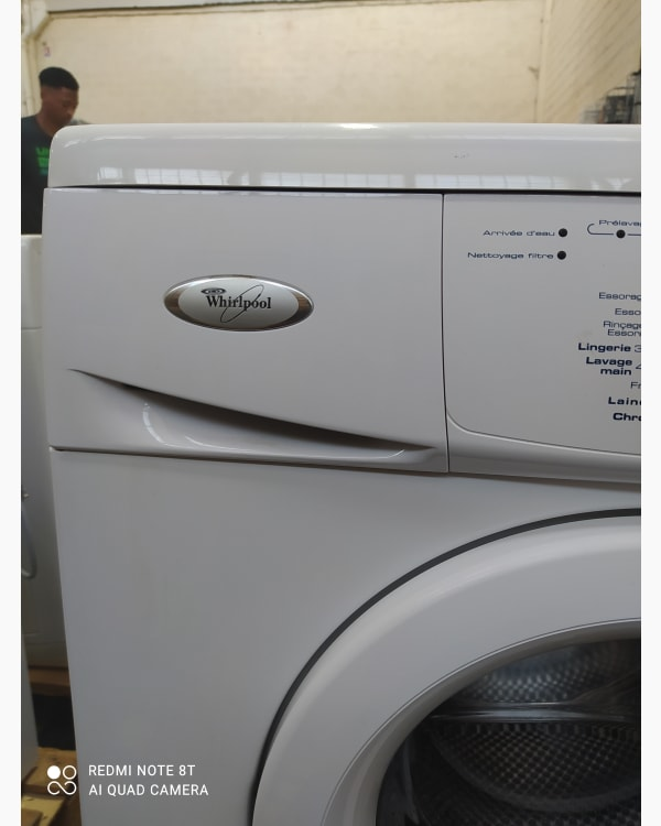Lave-linge Ouverture frontale Whirlpool AWO/D4741 2