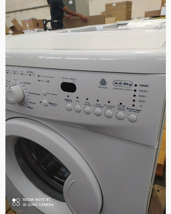 Lave-linge Ouverture frontale Whirlpool AWO/D4741 3