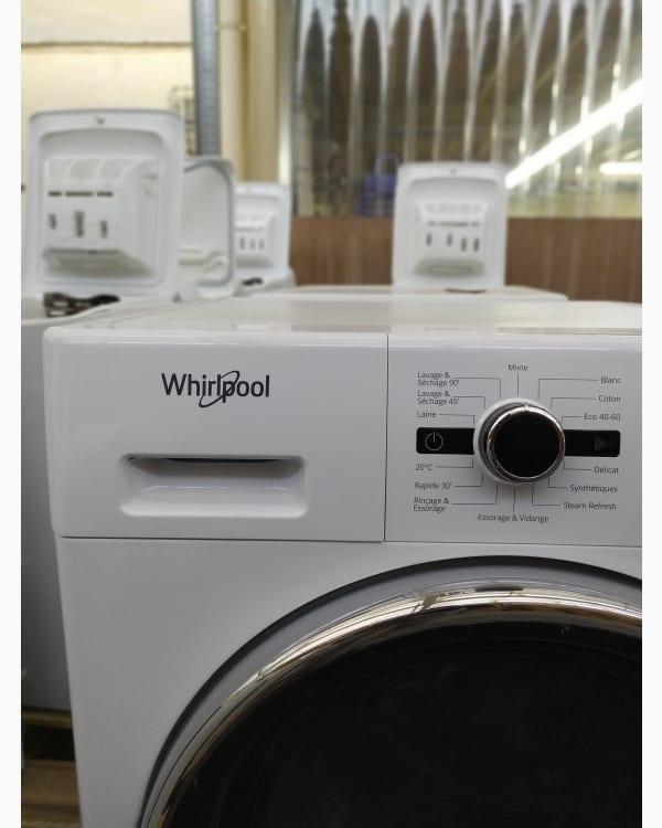 Lave-linge Lavante-séchante Whirlpool FWDG971682WBCVFR 2