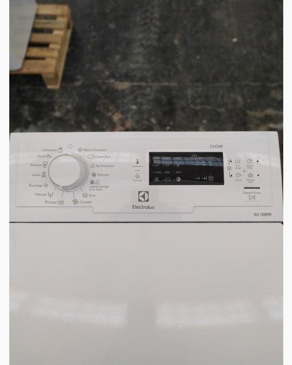 Lave-linge Ouverture par le haut Electrolux EWT1262BB2 3