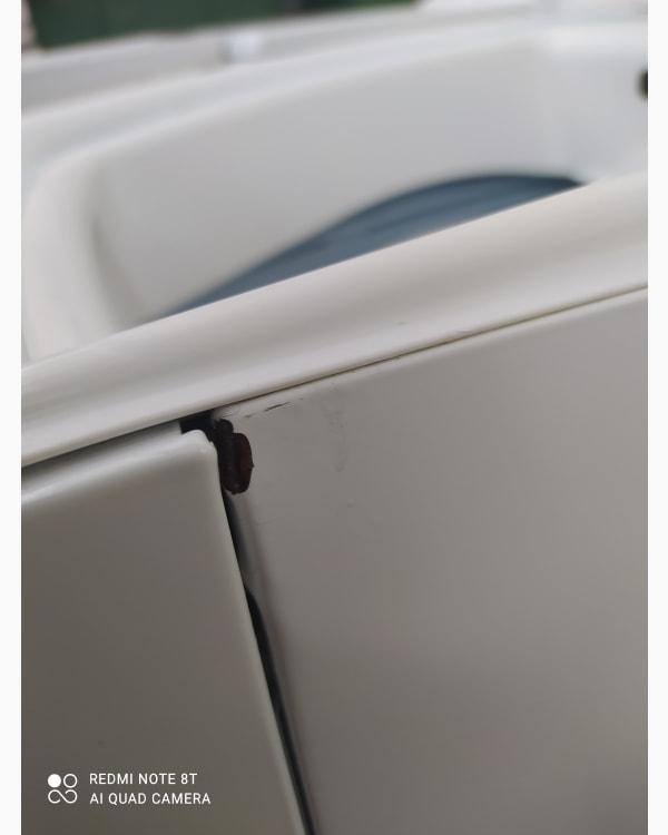 Lave-linge Ouverture par le haut Brandt Bwt2613t-f/01 5