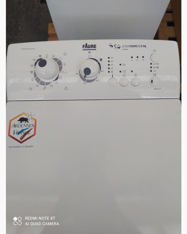 Lave-linge Ouverture par le haut Faure FWQ5123 2