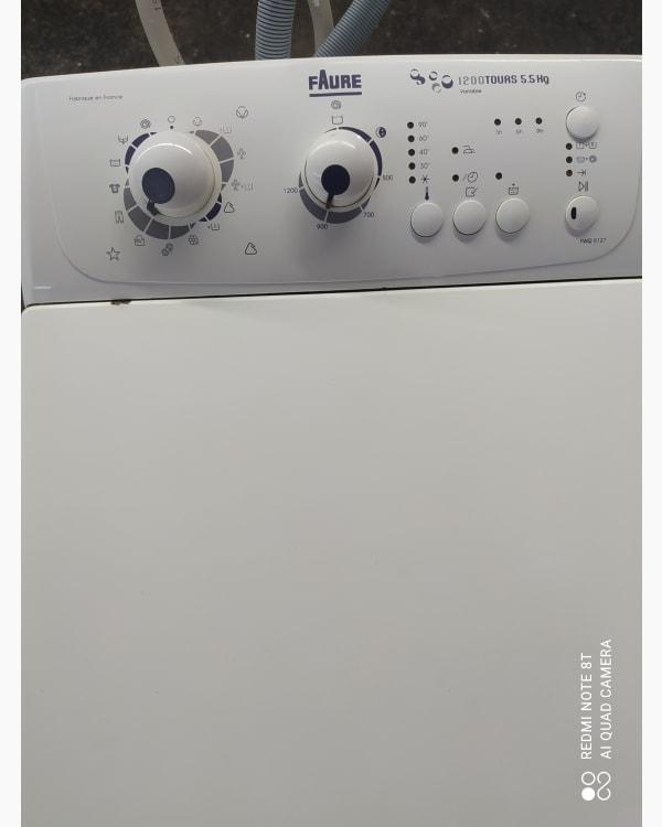 Lave-linge Ouverture par le haut Faure FWQB 5129 2
