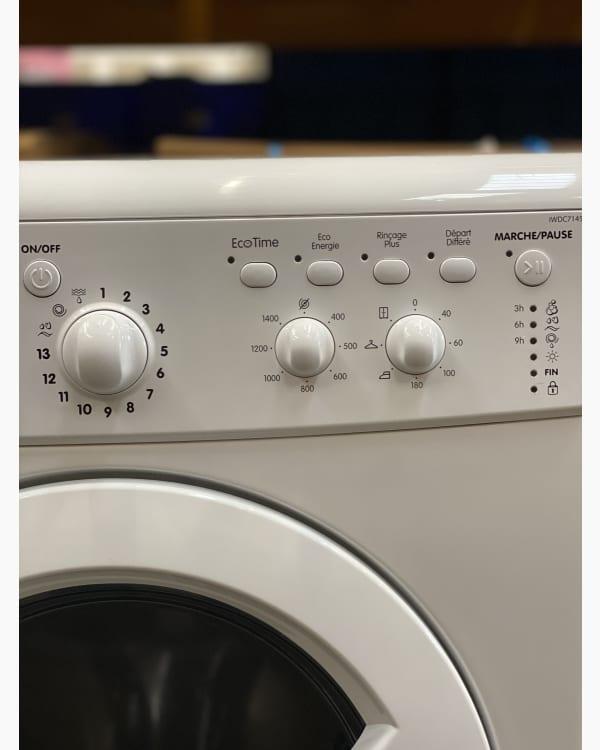 Lave-linge Lavante-séchante Indesit IWDC7145 2