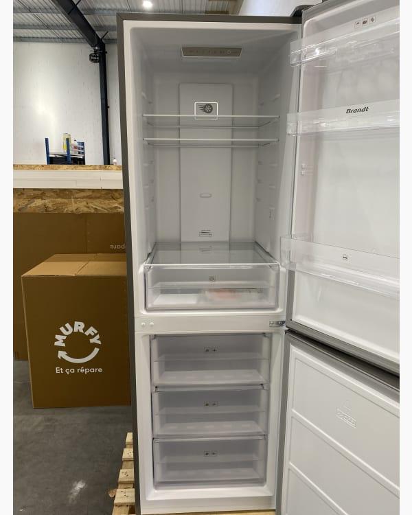 Réfrigérateur Réfrigérateur combiné Brandt Bfc8610nx 2