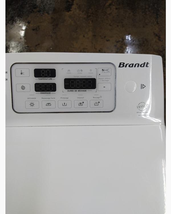 Lave-linge Ouverture par le haut Brandt WTD6284SF 4