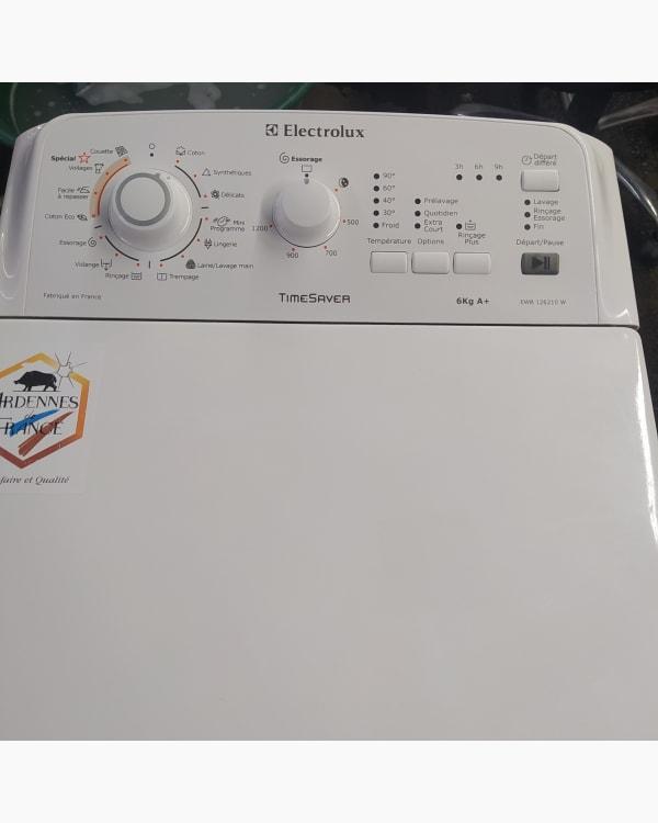 Lave-linge Ouverture par le haut Electrolux EWB126210W 2