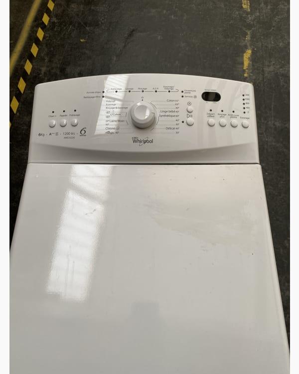 Lave-linge Ouverture par le haut Whirlpool AWE 6230 2