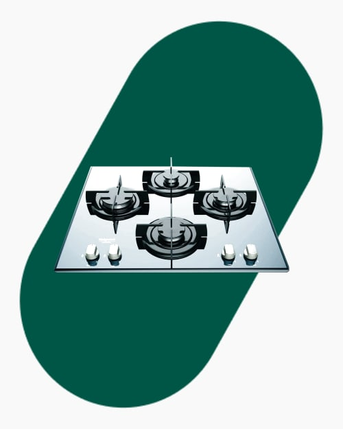Table de cuisson Plaque à gaz Hotpoint Ariston DD 642 HA(BK) 1
