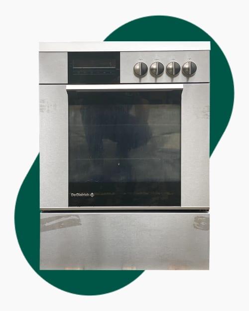 Four & cuisinière Four multifonction pyrolyse De Dietrich DCV968X 1