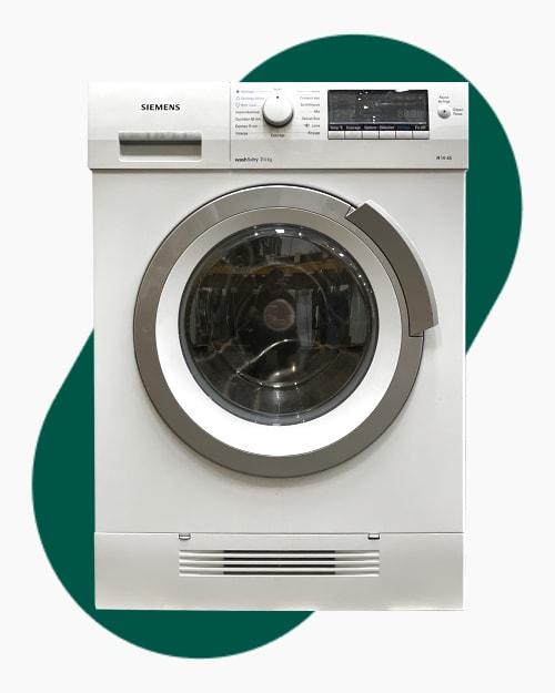 Lave-linge Lavante-séchante Siemens WD14H460FF 1