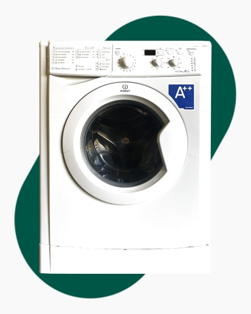 Lave-linge Ouverture frontale Indesit IWD91282 1