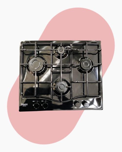 Table de cuisson Plaque à gaz Hotpoint Ariston PCN 642/HA(BK) 1