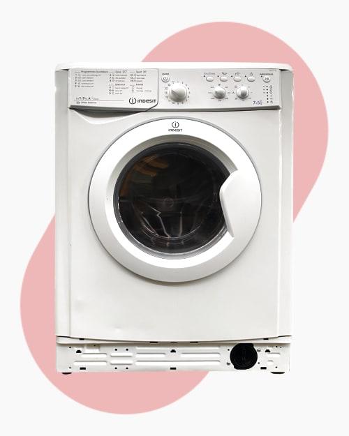 Lave-linge Lavante-séchante indesit IWDC7145 1