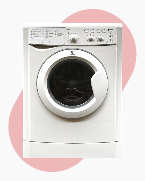 Lave-linge Lavante-séchante Indesit IWDC71680 1