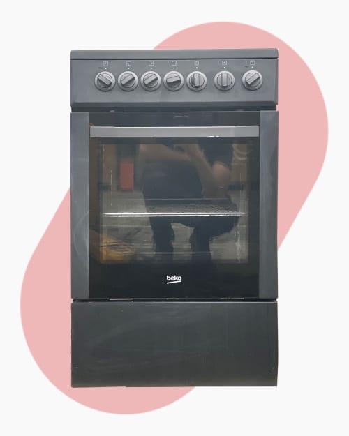 Four & cuisinière Cuisinière électrique Beko CSS57100GA 1