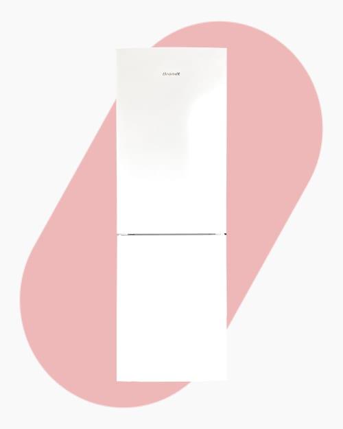 Réfrigérateur Réfrigérateur combiné Brandt BFC8610NW1 1