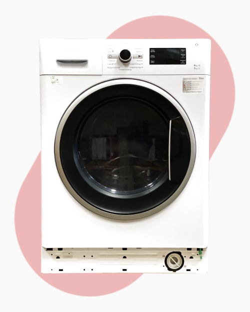 Lave-linge Lavante-séchante Whirlpool WWDC9716 1