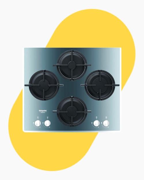 Table de cuisson Plaque à gaz Hotpoint Ariston DD642/HA(BK) 1