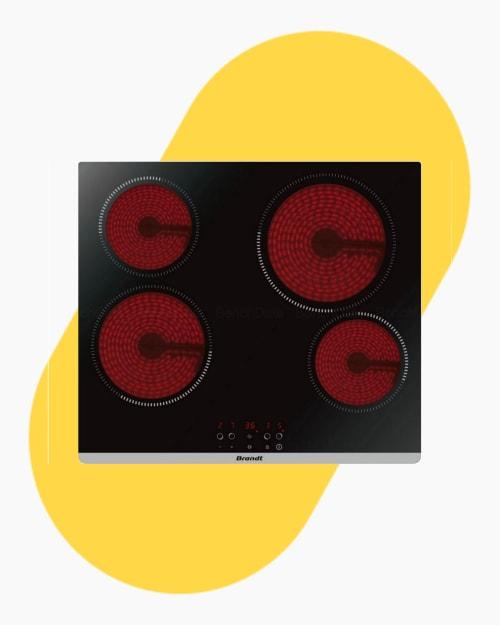 Table de cuisson Plaque vitro-céramique Brandt BPV6420B2 1