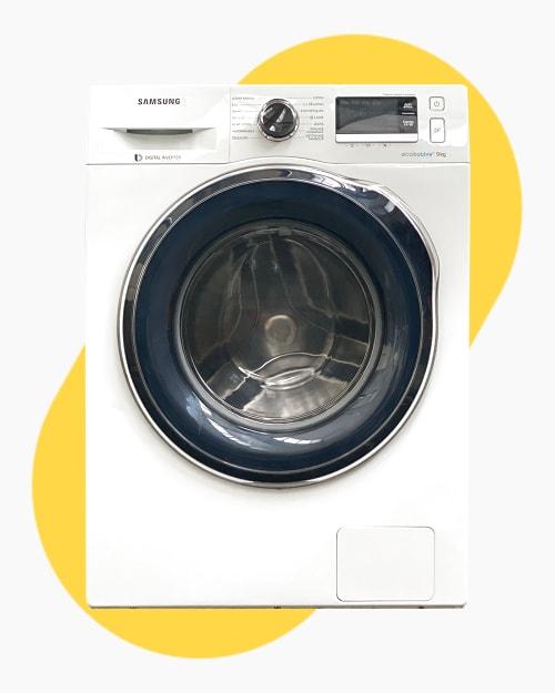 Lave-linge Ouverture frontale Samsung WW90J6410CW 1