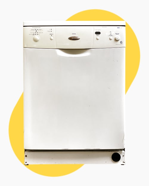Lave-vaisselle Pose libre Whirlpool ADP6830WH 1