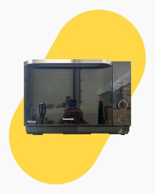Four micro-ondes Pose libre Panasonic Nnds596b 1