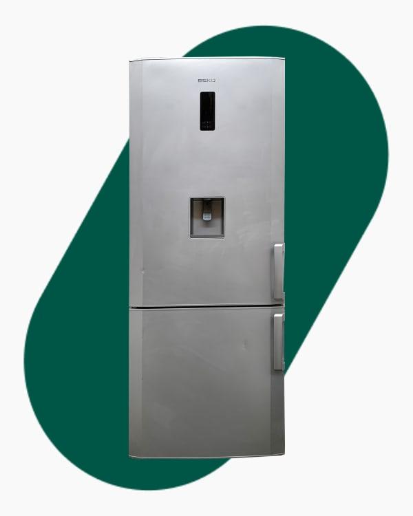 Réfrigérateur Réfrigérateur combiné Beko RCNE720E20DZXP 1