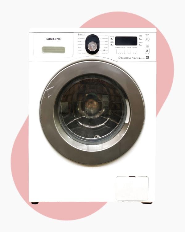 Lave-linge Lavante-séchante Samsung WD1702RJV 1