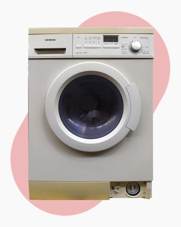 Lave-linge Lavante-séchante Siemens WXD1260FF/01 1
