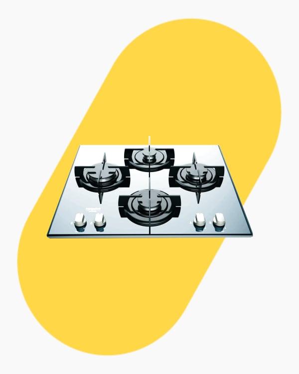 Table de cuisson Plaque à gaz Hotpoint Ariston DD642HA(BK) 1