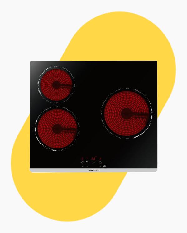 Table de cuisson Plaque vitro-céramique Brandt BPV6320B 1