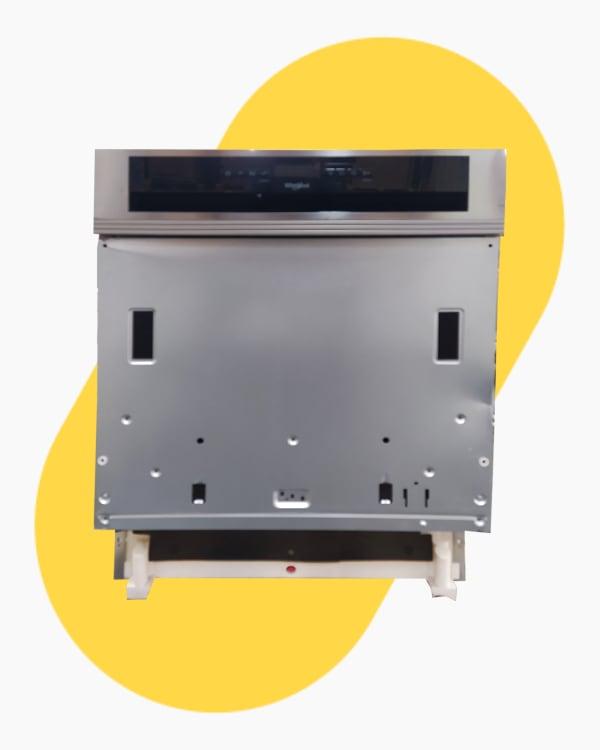 Lave-vaisselle Encastrable simple Whirlpool WBO3T123PFX 1
