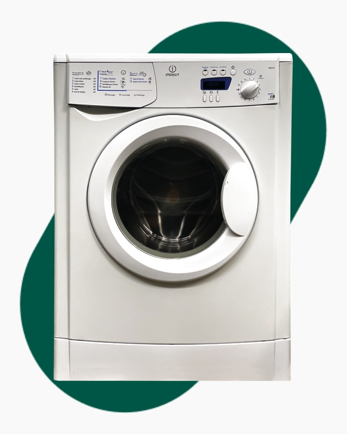 Lave-linge Ouverture frontale indesit WIXE12 1