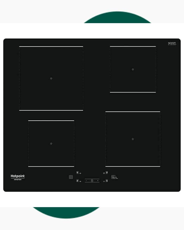 Table de cuisson Plaque vitro-céramique Hotpoint Ariston HQ2260SNE 1