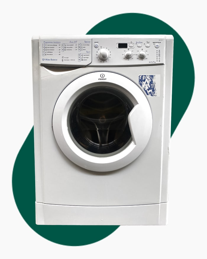 Lave-linge Ouverture frontale Indesit IWD71251 1