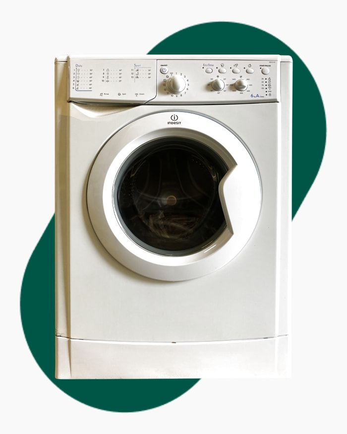 Lave-linge Ouverture frontale Indesit Iwc6143 1