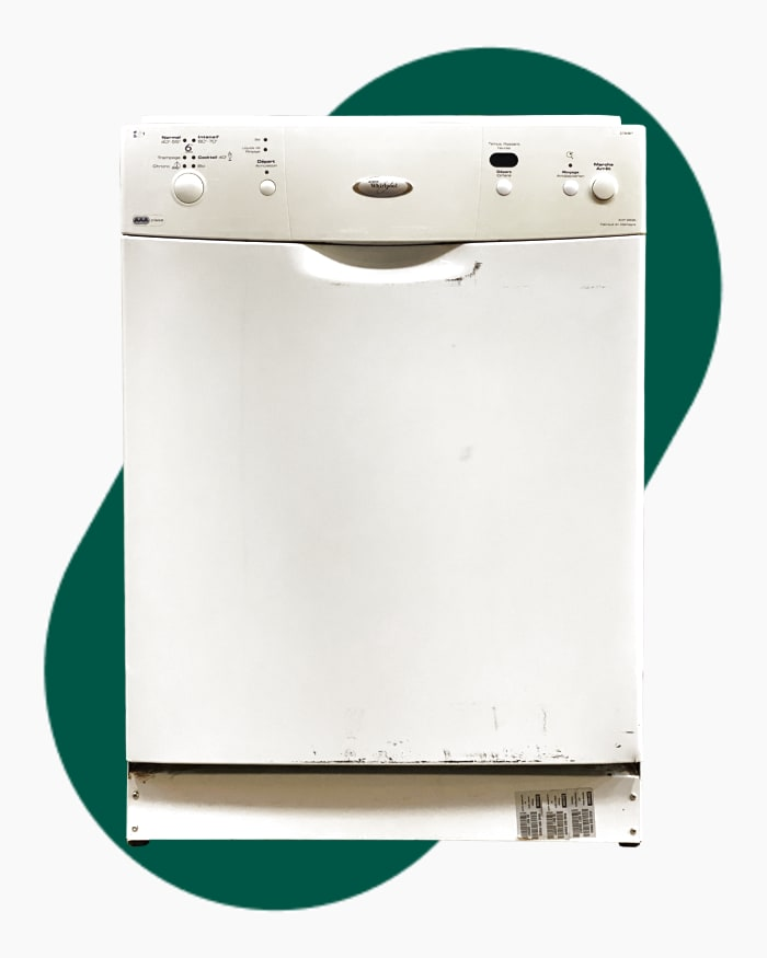 Lave-vaisselle Pose libre Whirlpool ADP6836WH 1