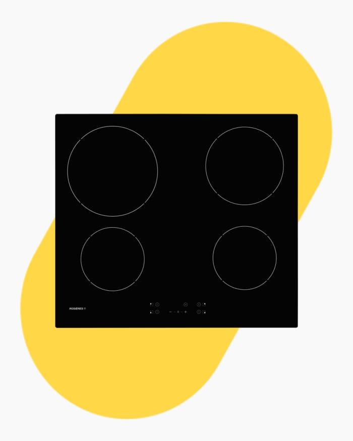 Table de cuisson Plaque vitro-céramique Rosières rocth64ct/1 1