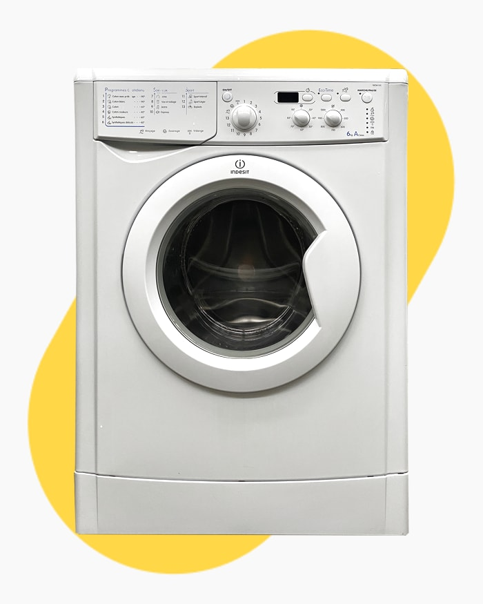 Lave-linge Ouverture frontale indesit IWD6105 1