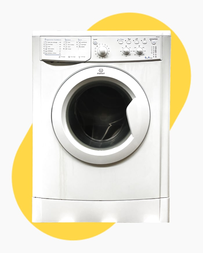 Lave-linge Ouverture frontale indesit IWC6125 1